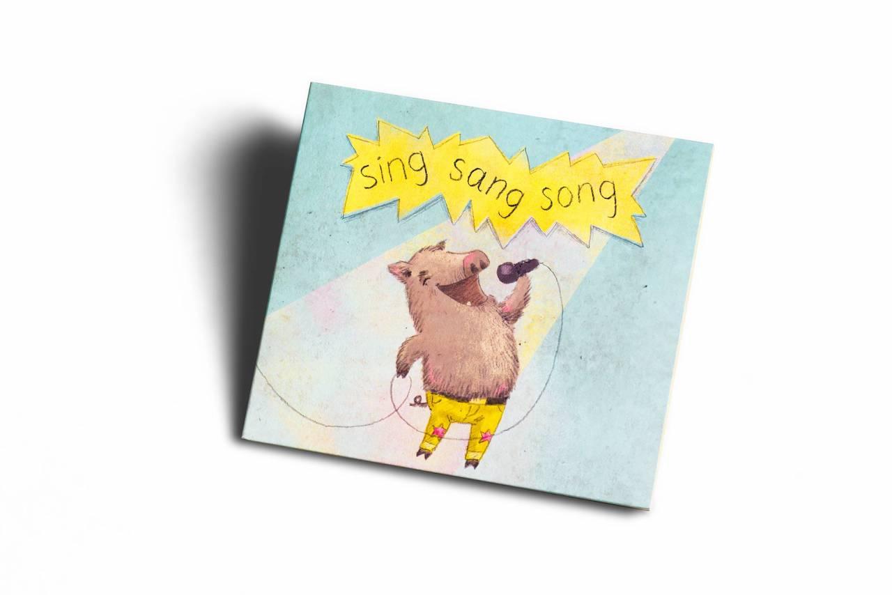 Referenz CD TRAFO: Sing Sang Song, pumpkin records im Vertrieb von Hoanzl, © Arlene Jobbes
