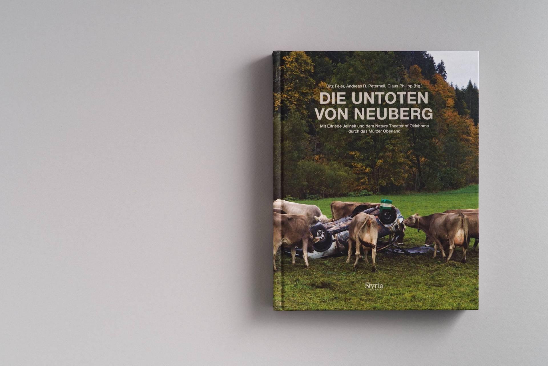 Referenz Publikation TRAFO: Die Untoten von Neuberg, Styria Verlag © Arlene Jobbes