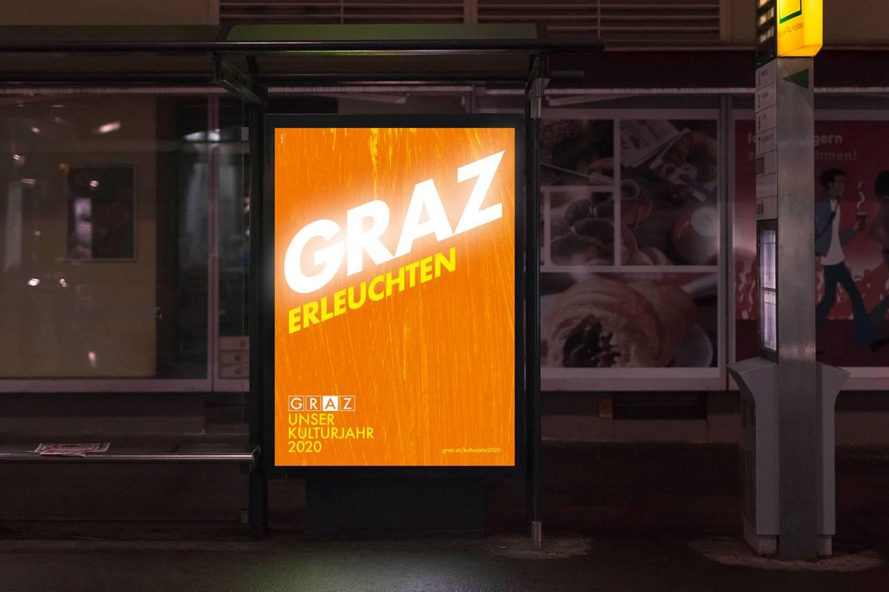 Referenzen TRAFO: Graz Kulturjahr 2020, Graz Erleuchten © Perndl+Co