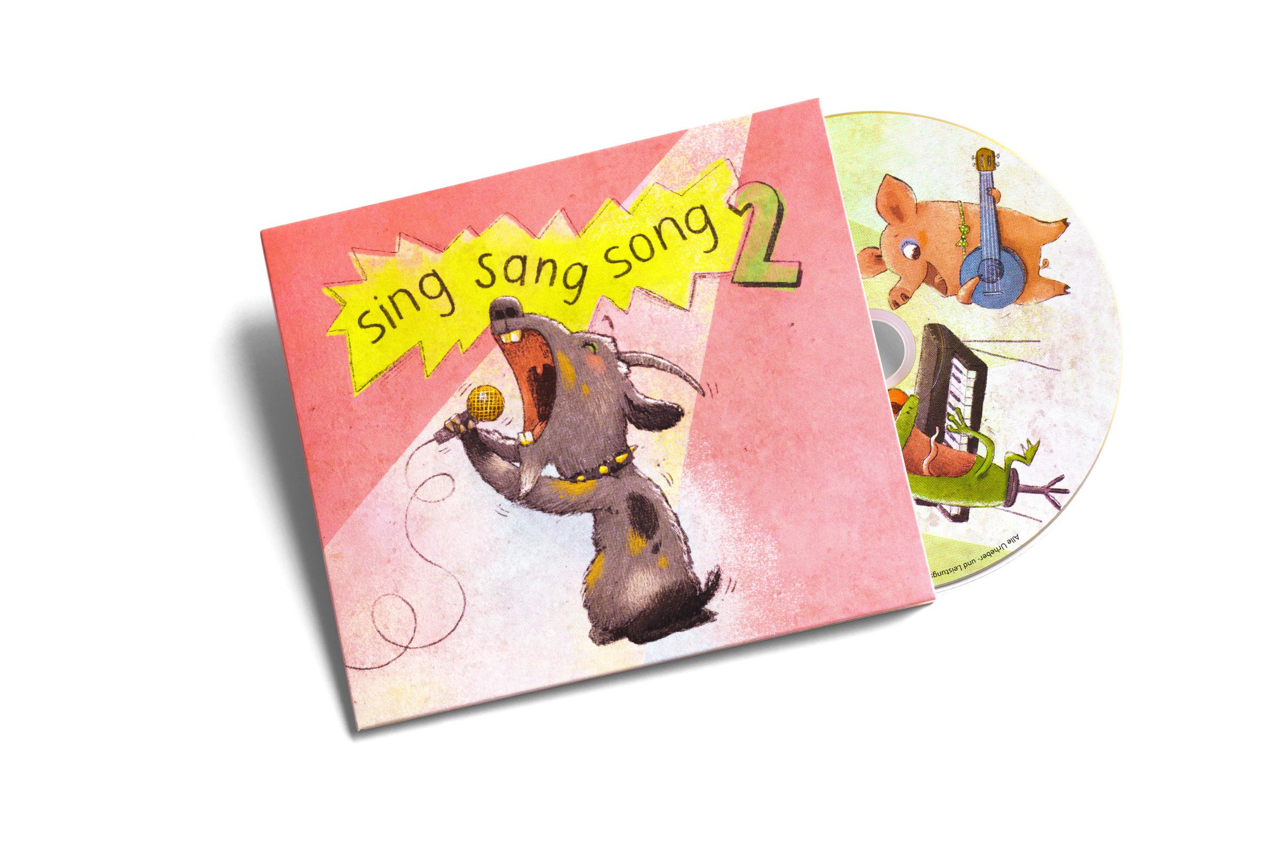 Sing Sang Song 2 CD © Arno Friebes
